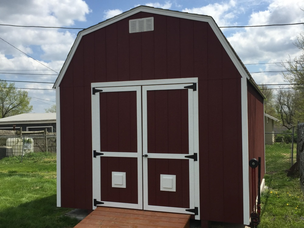 Lofted Garden Barn Shed
