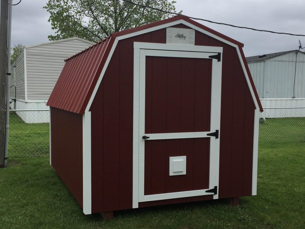 Mini Barn Shed Portable Building