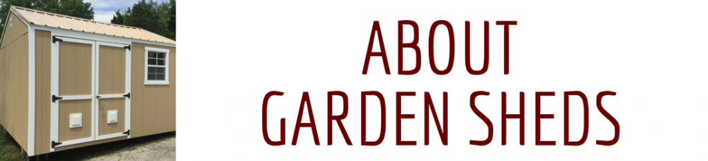 about garden sheds header image
